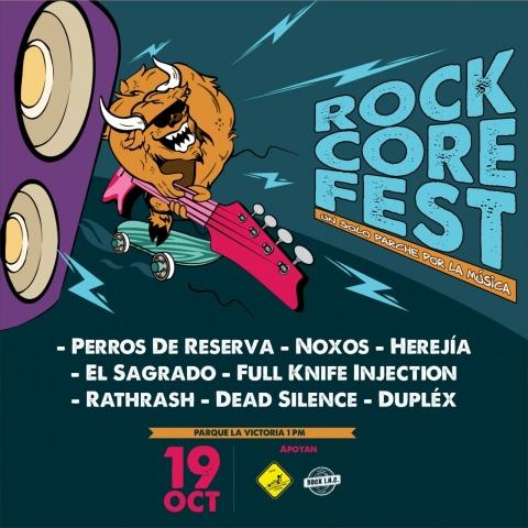 Rock Core Fest: Buen parche, guitarras pesadas y mucho Rock