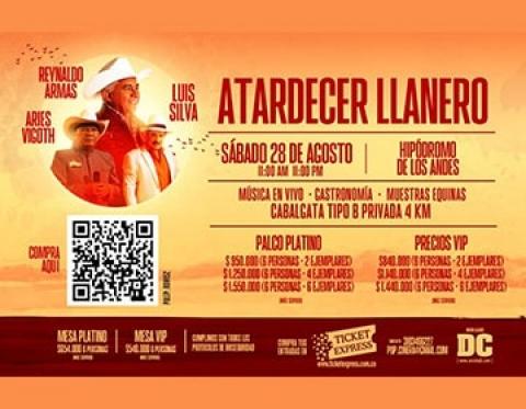 """""""Atardecer Llanero"""": música en vivo, gastronomía y zapateo"""
