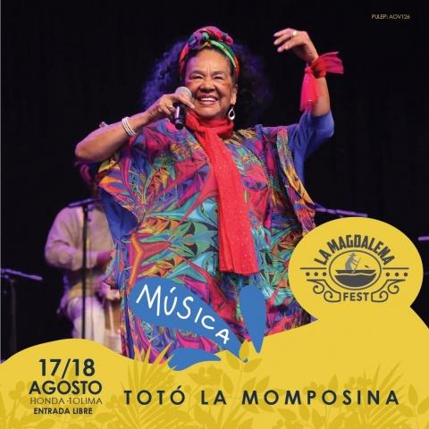 Llega la II edición del festival cultural  'La Magdalena Fest en Honda – Tolima