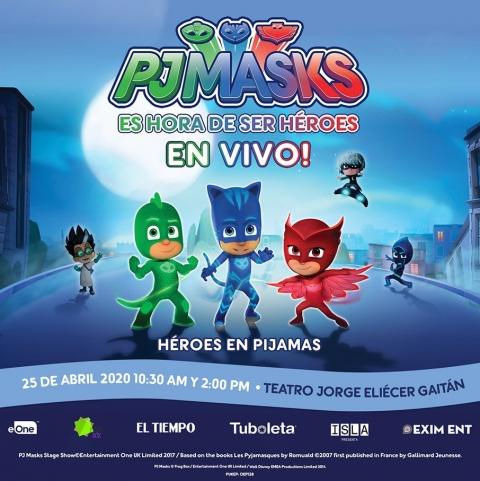 PJ MASK Héroes en Pijamas llega a Colombia