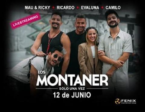 LOS MONTANER LIVE SERÁ EL 12 DE JUNIO