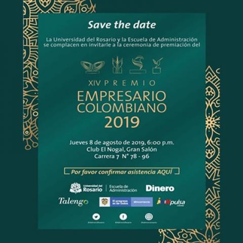 XIV Premio Empresario Colombiano 2019