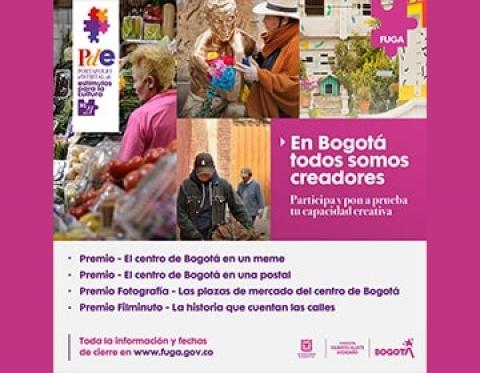 Premios FUGA: Meme, Fotografía, Postal y Filminutos