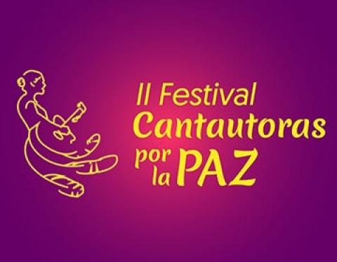Apoyemos el Festival Cantautoras por la paz