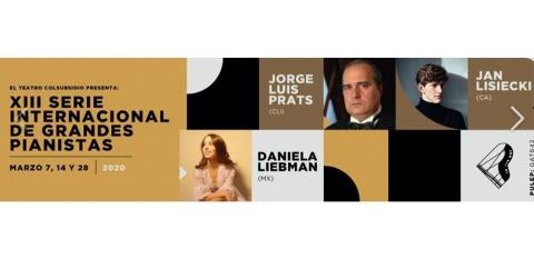 Arranca la Serie Internacional de Grandes Pianistas en Teatro Colsubsidio
