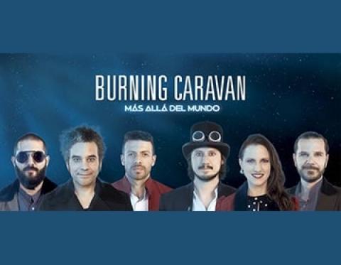 La música de Burning Caravan nos lleva a otros mundos