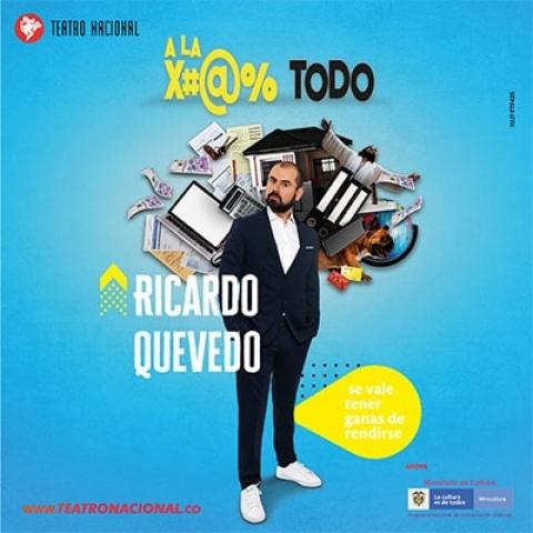 """El """"humor negro"""" de Ricardo Quevedo llega al Teatro Nacional"""