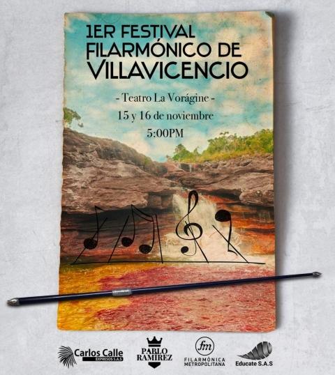 I edición del Festival Filarmónico de Villavicencio, con lo mejor de la música colombiana