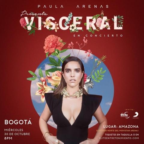 Paula Arenas, nominada al Latin Grammy presenta su 'Visceral' álbum debut